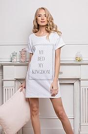 Aruelle -  Koszulka Kingdom Dots White biały