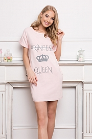 Aruelle -  Koszulka Princess Queen Pink różowy