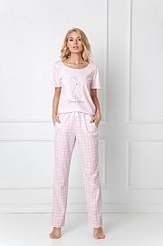 Aruelle -  Piżama Bonnie Long  różowy