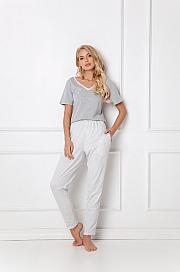 Aruelle -  Piżama Gwen Long Grey szary