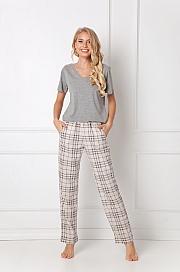Aruelle -  Piżama Lonette Long Beige beżowy