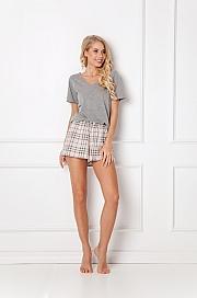 Aruelle -  Piżama Lonette Short Beige beżowy
