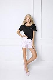 Aruelle -  Piżama Royal Short czarno-różowy