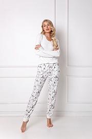 Aruelle -  Piżama Woods Long biały