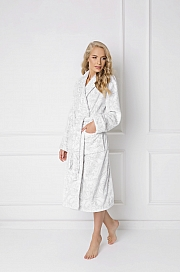 Aruelle -  Szlafrok Glamour  biały