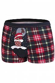 bokserki Cornette Merry Christmas Too fat - foto