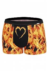 bokserki Cornette Walentynkowe Fire 010/60 - foto