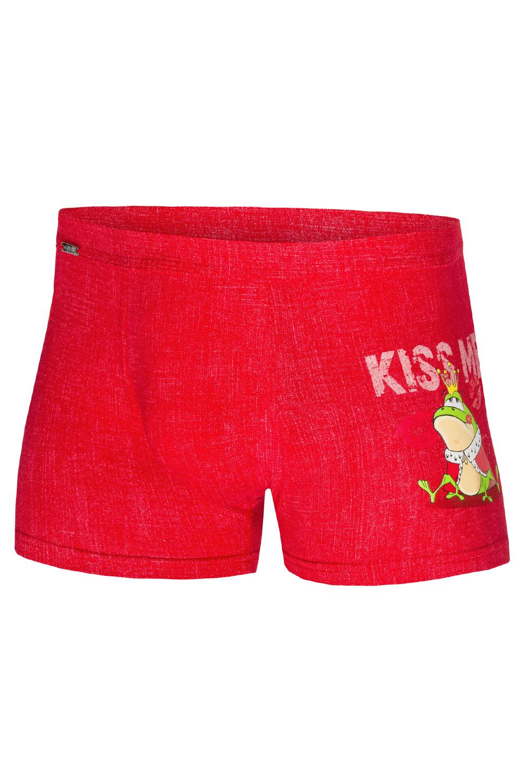 bokserki Cornette Walentynkowe Kiss Me