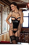 Angelina corset black - Beauty Night