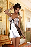 Yasmine chemise white - Beauty Night