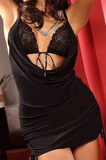 Francesca black - komplet - Beauty Night