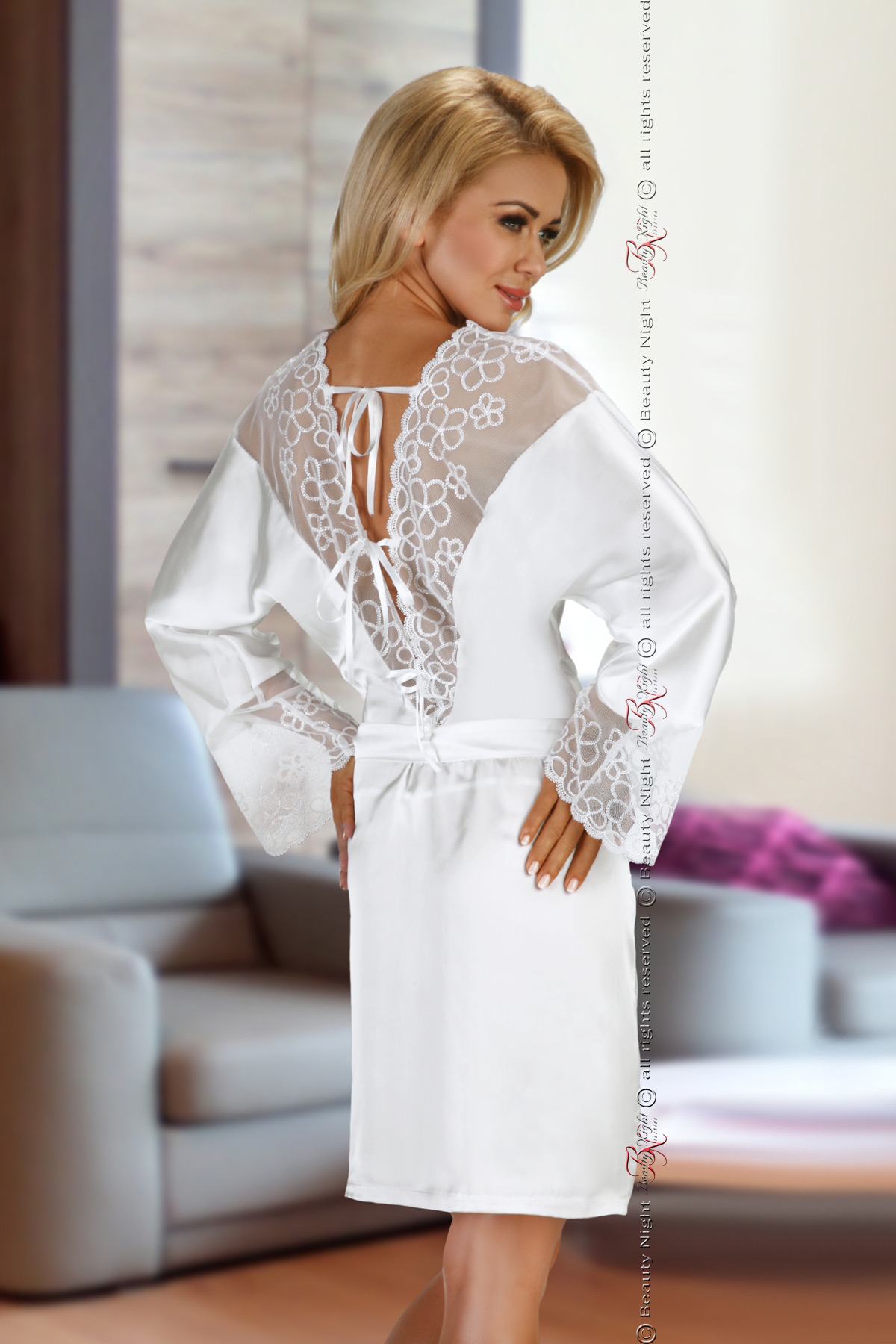 Federica white - Beauty Night