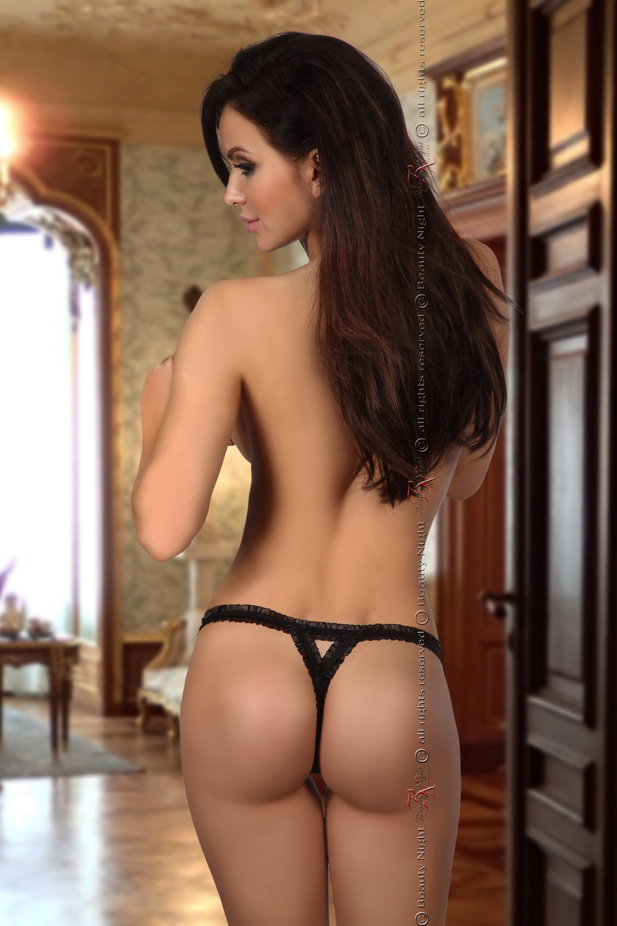 Mystique thong black - Beauty Night