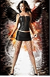 Luciferia Skirt CR-3077  - Chilirose