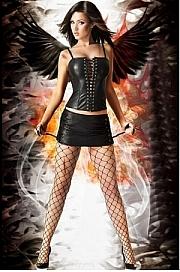 Luciferia Skirt CR-3077  - Chilirose