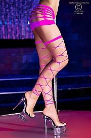 CR 4264 Neon-Pink Stockings - Chilirose
