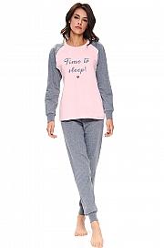 piżama Dn-nightwear PM.9715 - foto