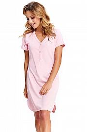 6a5a0952d2161c Dn-nightwear TCB.9505 - koszulka ciążowa oraz do karmienia
