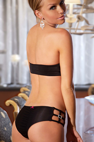 Bling Bling Bikini Set 408-BLK - komplet - Electric Lingerie