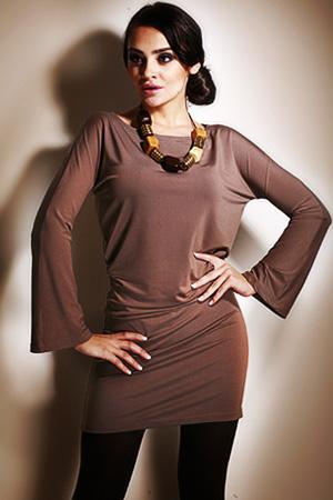 7 mokka - sukienka - Figl
