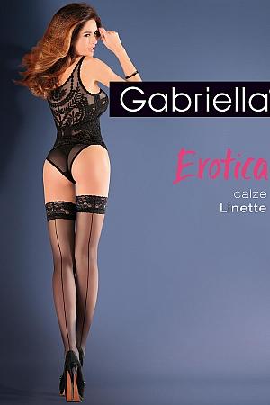 Klasyczne Gabriella Erotica Calze Linette Code 642 - foto
