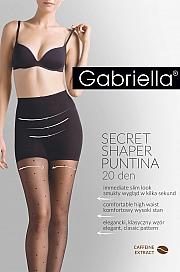 Gabriella Secret Shaper Puntina 20 Den code 680 - nero