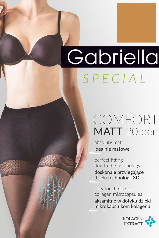 klasyczne Gabriella Comfort Matt 20 Den code 479