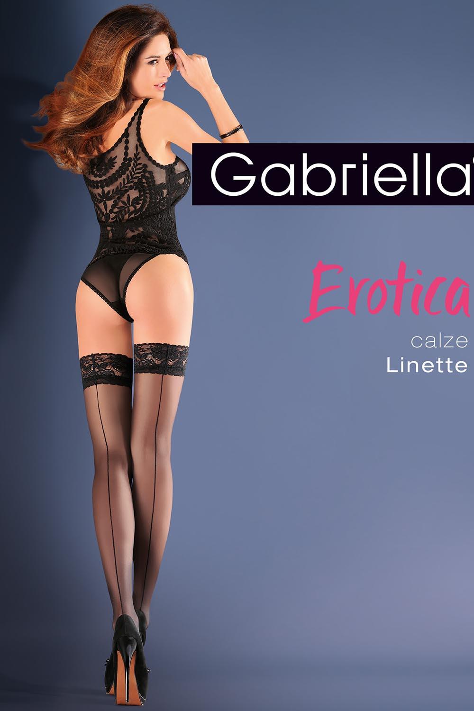 Klasyczne Gabriella Erotica Calze Linette Code 642