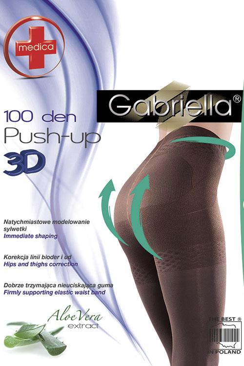 klasyczne Gabriella Medica Push-up 3D 100 DEN Code 171
