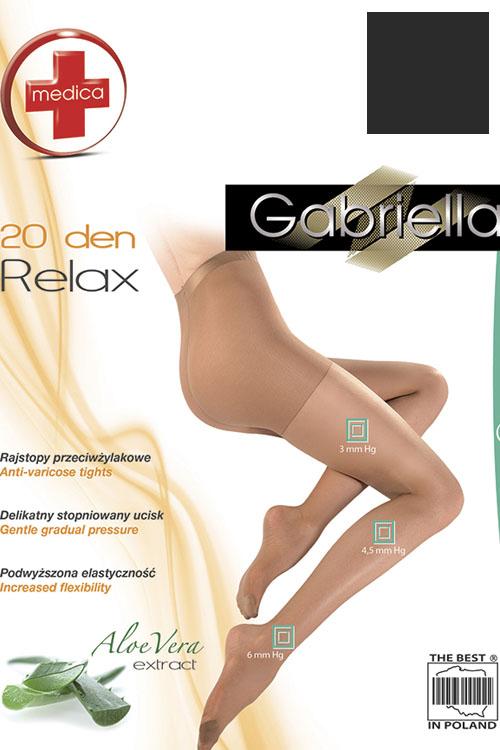 klasyczne Gabriella Medica Relax 20 DEN Code 110
