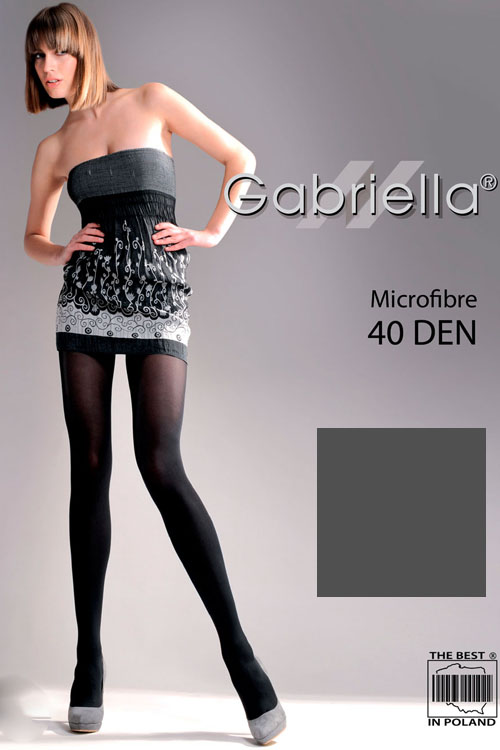 klasyczne Gabriella Microfibre 40 Den Code 121