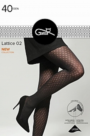 Gatta Lattice 02 - nero