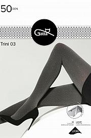Gatta Trini 03 3D 50 DEN - grafit-nero