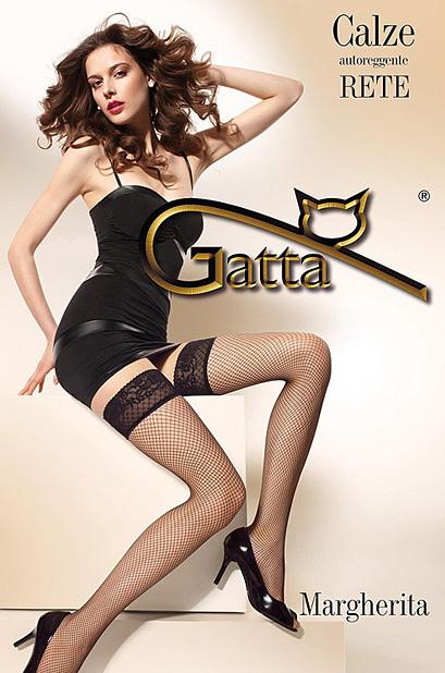 Margherita 01 - pończochy kabaretki - Gatta