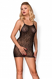hot-in-here - Drapieżna sukienka Wild cat Czarny