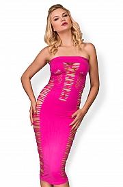 hot-in-here - Urocza sukienka Candy Princess Różowy