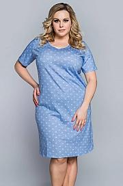 Italian Fashion Bogusia kr.r. - niebieski