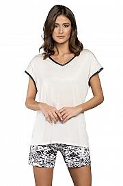 Italian Fashion Pasja kr.r. kr.sp. - biały/druk