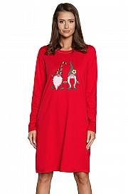 Italian Fashion Santa dł.r. - czerwony