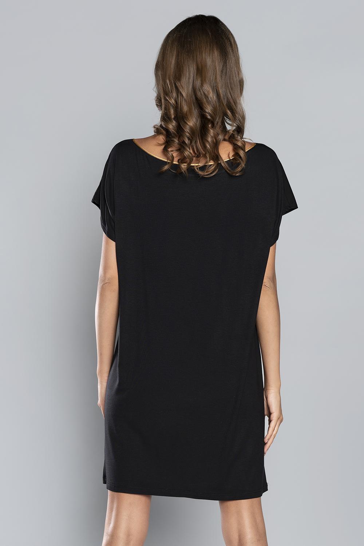Italian Fashion Mandala kr.r. - czarny