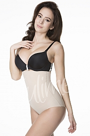 Julimex Shapewear 251 Figi Wysoka Talia - natural