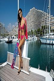 Kinga Lingerie - Biustonosz Yacht Pu-284 jak na zdjęciu