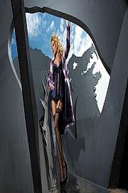 Kinga Lingerie - Gorset Barcelona IV C-138 + stringi GRATIS! jak na zdjęciu