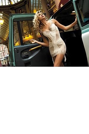 Kinga Lingerie - Koszulka London II N-2534 + stringi GRATIS! jak na zdjęciu