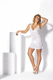 Kinga Lingerie de Femme -  Koszulka Shake N-215 + stringi GRATIS! biały