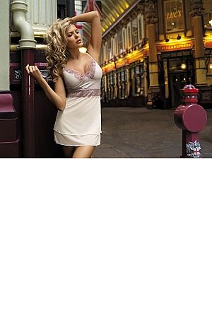 Kinga Lingerie - Koszulka Street 2535 + stringi GRATIS! jak na zdjęciu