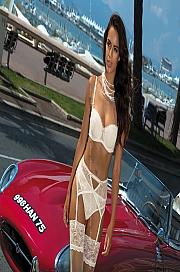 Kinga Lingerie - Stringi Luxury S-236/1 jak na zdjęciu
