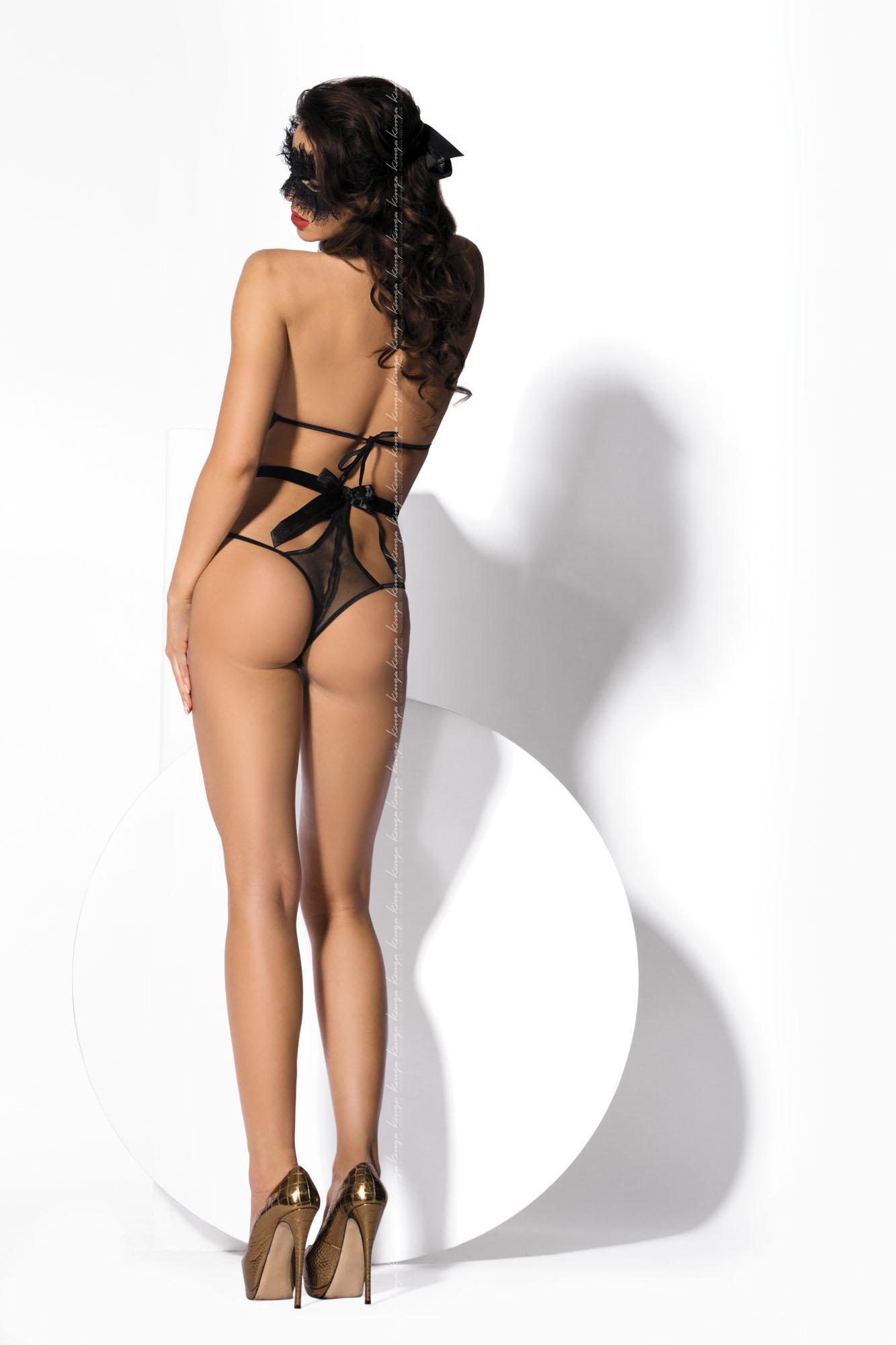 Kinga Lingerie de Femme -  Body Let Dominate B-209 Black czarny Foto 2