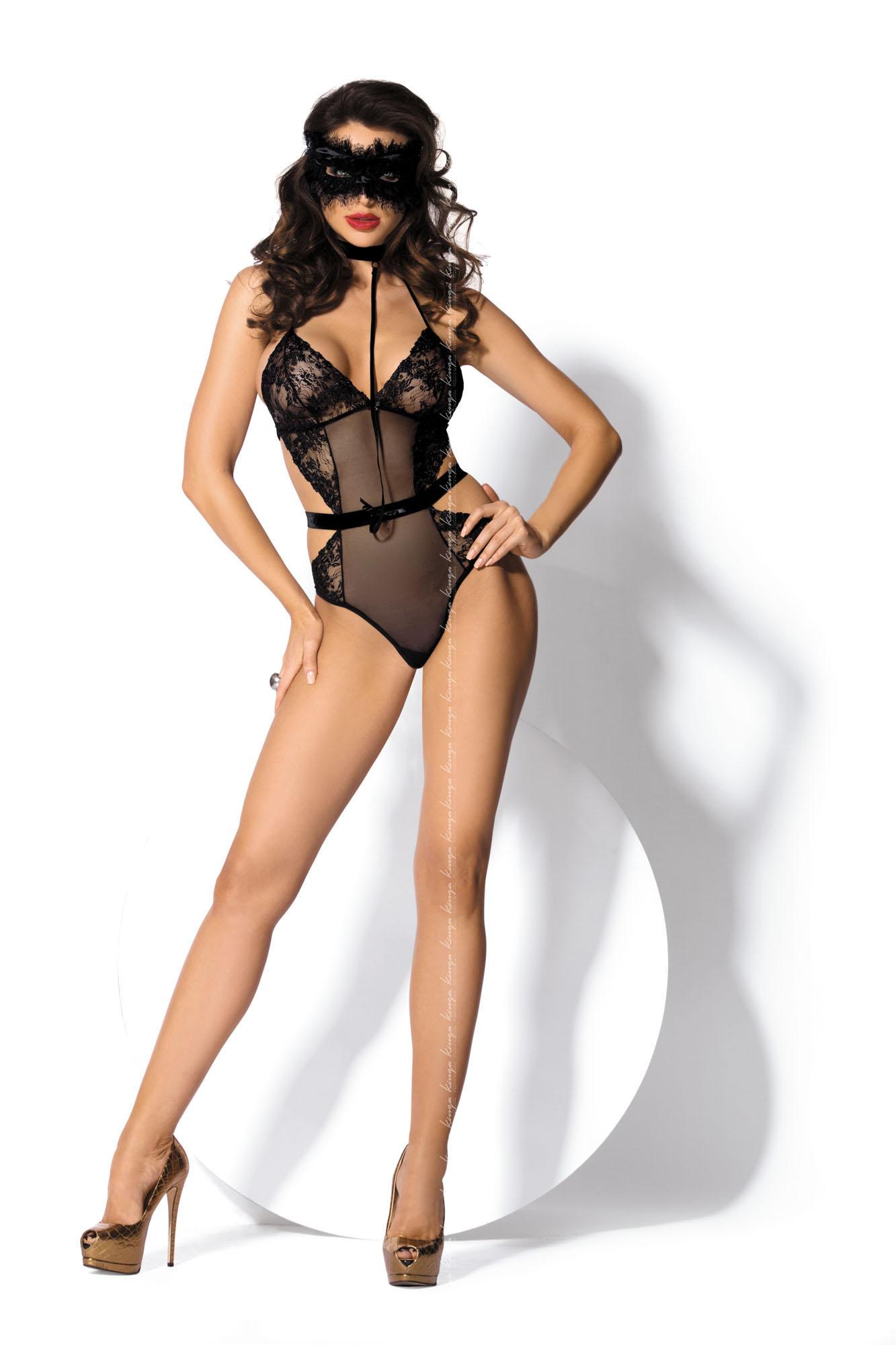 Kinga Lingerie de Femme -  Body Let Dominate B-209 Black czarny Foto 1