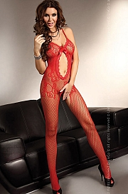 Livia Corsetti - Magali Red bodystocking LC 17036